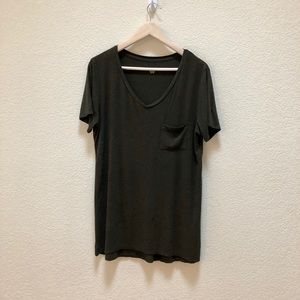 Women's Mossimo relaxed front pocket T-shirt